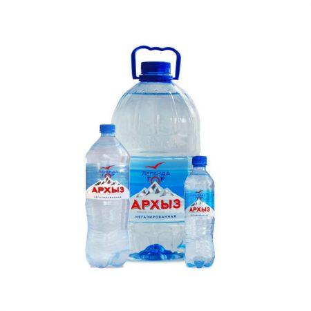 Вода питьевая Архыз