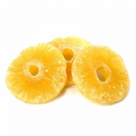 Цукаты из ананаса кольца