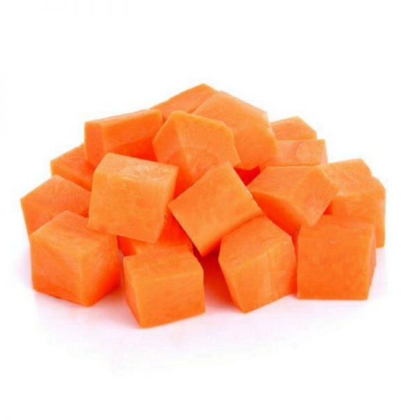 Морковь кубики с/м - ЭкоФерма 24