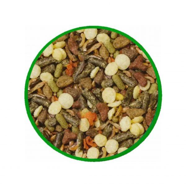 эко-корм для красноухих черепах