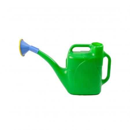 Лейка пластмассовая зеленая 12л