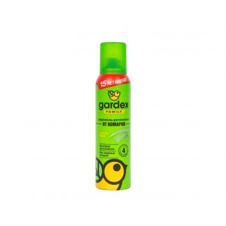 Аэрозоль от комаров Gardex Family