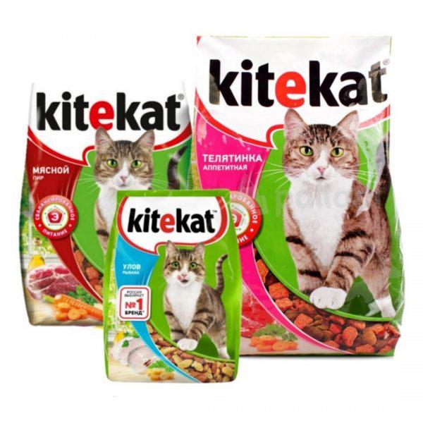 Корм для котов Kitecat