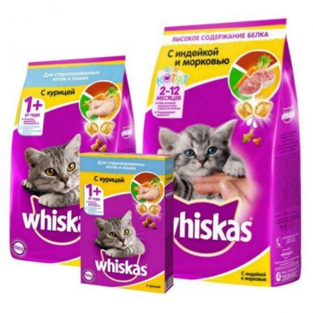 Корм для котов Whiskas