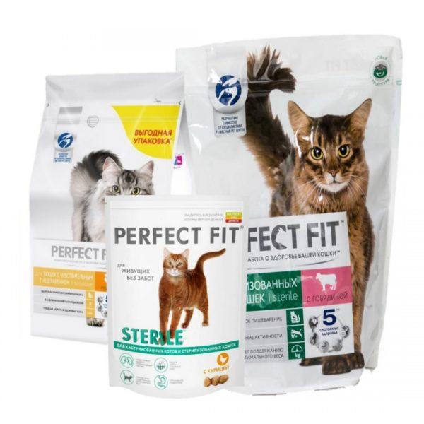 Корм для котов Perfect fit
